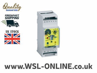 IME Delta D2-L RD1A Two Module Earth Leakage Relay With 1 Alarm & 1 Relay SPDT O