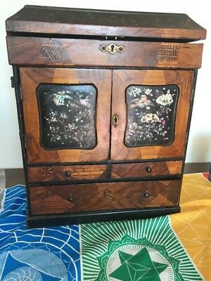 Antique Early 19c Japanese /  Chinese Cabinet