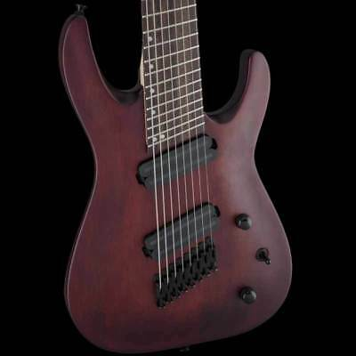 Jackson X Series Dinky Arch Top DKAF8 MS Mahogany Stain