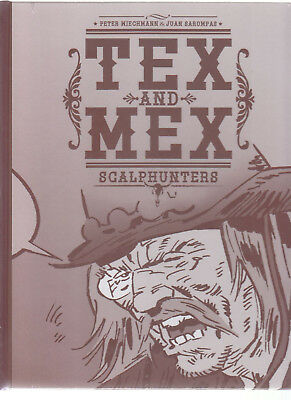Tex and Mex Scalphunters Gesamtausgabe Hardcover Comic in Topzustand !!!