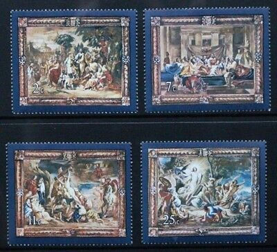 MALTA 1978 Flemish Tapestries (2nd series). Set of 4 Mint Never Hinged SG592/595