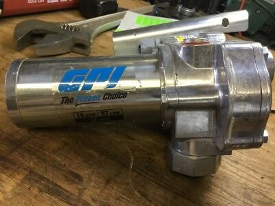 GPI 150s Fuel Pump Used FREE SHIPPING