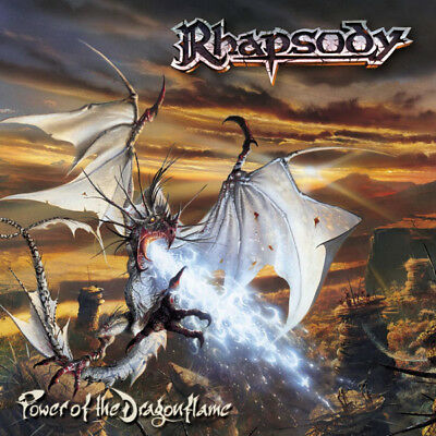 Rhapsody ‎- Power Of The Dragonflame Vinyl Pic Disc 2LP 2002 with poster