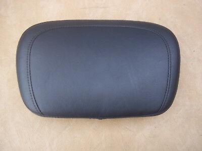 Harley Stock Top Stitched Mid-Sized Back Rest Pad for Touring Models  52924-98B