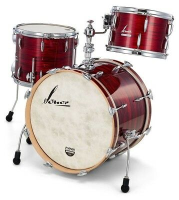 Sonor Vintage VT 16 2014 Vintage Red Oyster Finish Bass Drum (w/ Mount)