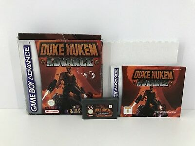 Duke Nukem Advance (Nintendo Game Boy Advance, 2002)