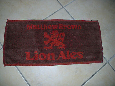 "Bar Towel ""Matthew Brown Lion Ales"""