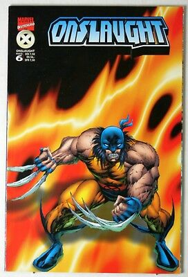"""Onslaught Phase 6 (""""Variant Cover Edition"""" von Wolverine)"""