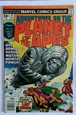 Planet Of The Apes  # 10 Very Fine Plus  1976