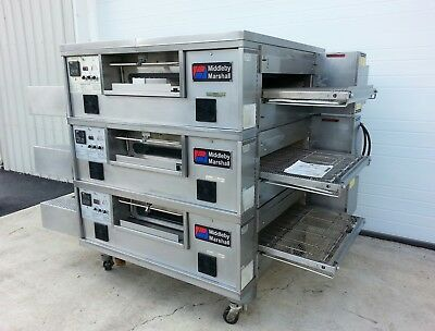 "Middleby Marshall PS555 Triple Deck Conveyor Pizza Oven ***Belt Width 32""***"