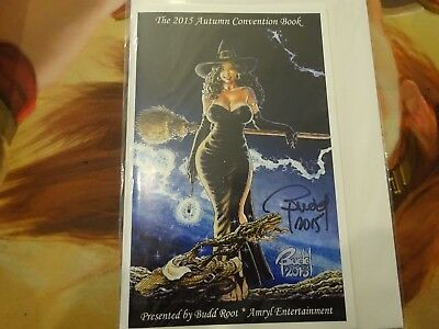 Cavewoman Convention Book - 2015 Autumn -Mature- Signed By Budd Root!