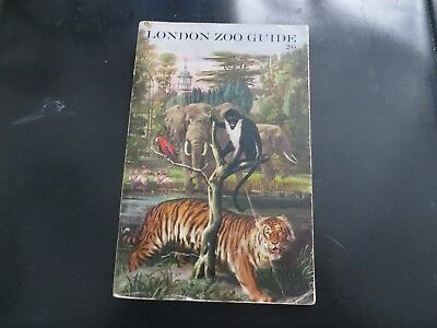 LONDON ZOO EARLY 1960s GUIDE,GOOD CONDITION