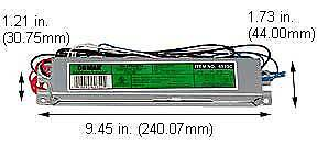 Replacement Ballast For Advance Iopa4P32Lwsc, Espen Technology Inc Ve432Mvhiple