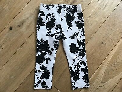 Girls m&s autograph leggings jeggings age 12-18 months marks & spencer