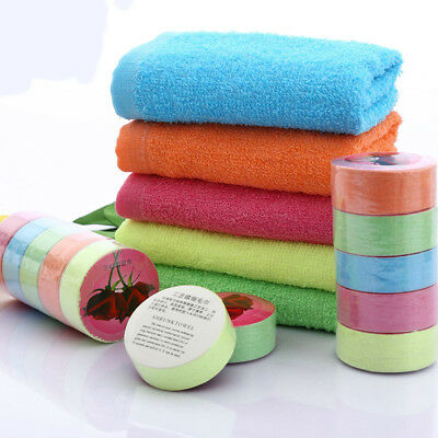 Portable Travel Compressed Towel Mini Face Care Magic Cotton Washcloth Outdoor