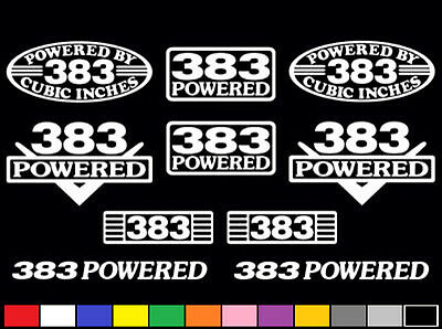 10 decal set 46 l v8 powered engine stickers emblems gt 281 ci 10 decal set 383 ci v8 powered engine stickers emblems vinyl fender badge decals publicscrutiny Image collections