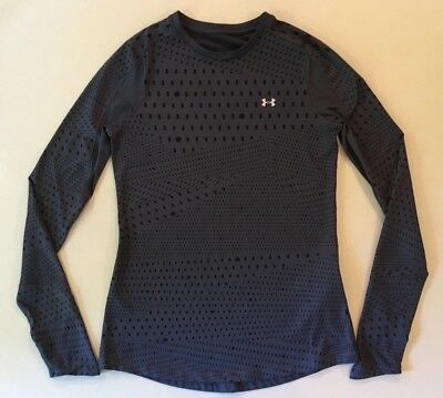 Under Armour Cold Gear Compression Long Sleeve Athletic Tee Sweatshirt Medium