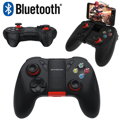 Wireless Bluetooth B04A Joystick Gamepad Remote Game Controller For PUBG Mobile