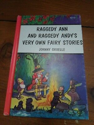 Raggedy Ann And Raggedy Andy Very Own Fairy Stories Bobbs Merrill