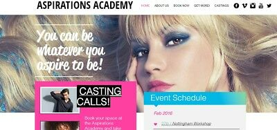Modelling training days business for sale - Fashion / Glamour / TV