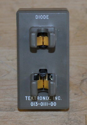 Tektronix 013-0111-00 Diode Test Fixture for Curve Tracers, GOOD