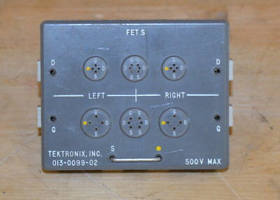 Tektronix 013-0099-02 FET Test Fixture for Curve Tracers, GOOD