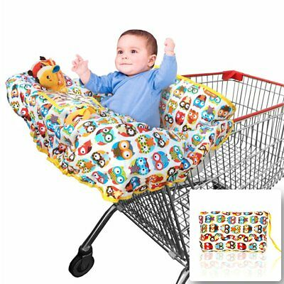2-in-1 Shopping Cart Cover | High Chair Cover for Baby | Large