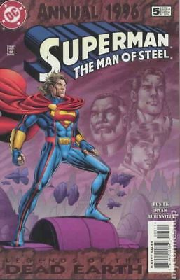 Superman The Man of Steel Annual #5 1996 VF Stock Image
