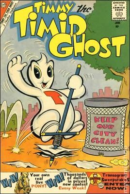 Timmy the Timid Ghost (1st Series) #21 1960 VG Stock Image Low Grade