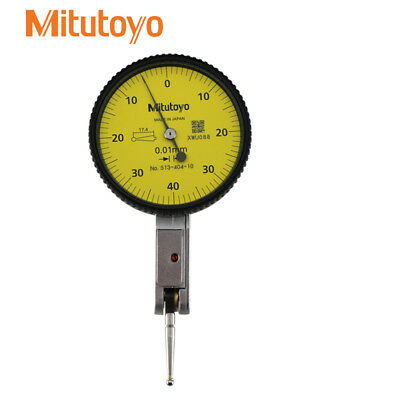 Dial Test Indicator  0-0.8mm  Mitutoyo 513-404-10E