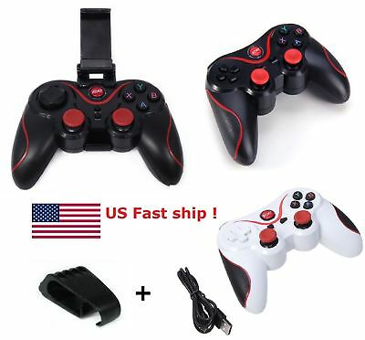 Wireless Gamepad Controller For IOS Android iPhone TV Box Tablet + Phone Holder