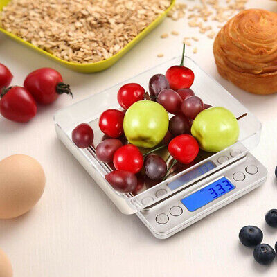 0.01-500g Jewellery Kitchen Food Scale Digital LCD Electronic Balance Scales OZ