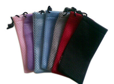 2/5/10X Sunglasses Bag Soft Waterproof Cloth Glasses Pouch Sunglasses Cases KO4