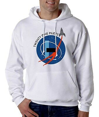 Twenty One Pilots  NASA White Tshirt / Hoodie / Sweater / Tank top