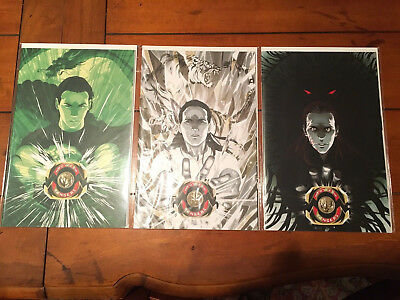 Mighty Morphin Power Rangers #14, 15, 16 Goni Montes Variant Set Mmpr Boom Nm