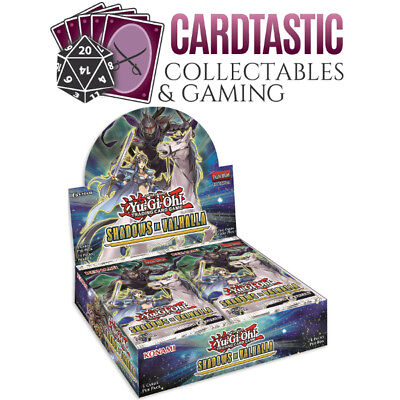 Yu-Gi-Oh! Shadows Over Valhalla Box PRESALE