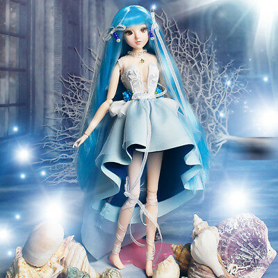 1/6 Ball Jointed Doll Constellation Girl Doll Girls Xmas Gifts - Aquarius