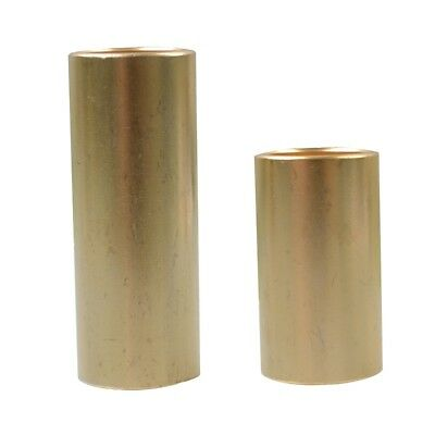 2 Pcs Brass Acoustic Guitar Tuning Slide Bars String Instrument Parts