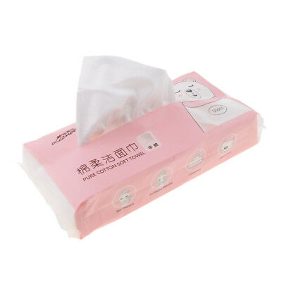 50PCS Cotton Pad Makeup Facial Tissue Cleaning Pads Nail Polish Remover Wipe