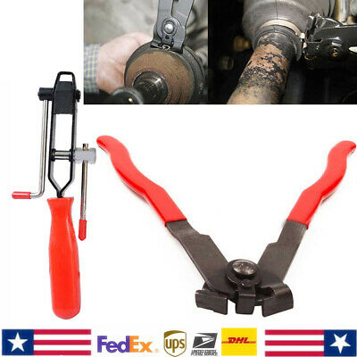 Boot Clamp Pliers CV Clamp Tool CV Joint Boot Clamp Pliers 2pc Set Ear Type