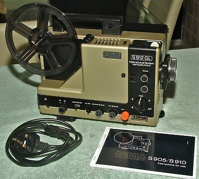 EUMIG S912GL SUPER 8 SOUND PROJECTOR - Serviced