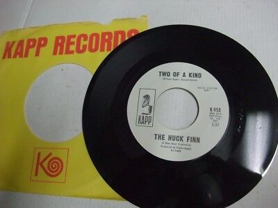 THE HUCK FINN: Two Of A Kind (US-Kapp 1968,PROMO,great US 60s Pop/Garage,rare!!)