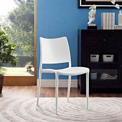 Modway Furniture Hipster Dining Side Chair in White - EEI-1703-WHI