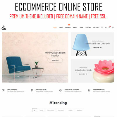 eCommerce Online Store | Premium WordPress Website Shop Web Design | Woocommerce