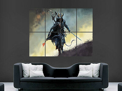 Warrior Sword Fantasy Giant Wall Poster Art Picture Print Large