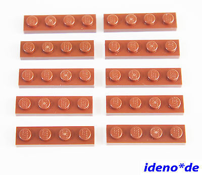 #aa53 RED LEGO ® 10 X PIASTRA 3623 1 x 3 ROSSO 362321