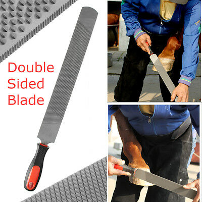 48X5CM Equestrian Farrier Tools Horse Hoof Trimming File Rasp Double Sided