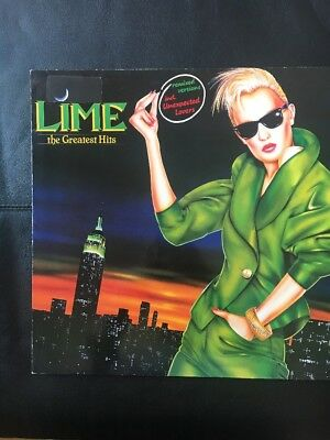 LIME The Greatest Hits Vinyl LP