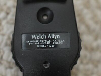 Welch Allyn 11720 3.5V Standard Ophthalmoscope, rechargeable  USED