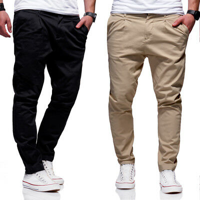 Jack   Jones Jeans Chinohose ROBERT Anti-Fit Hose Chino Beige Schwarz NEU b1fa6dc13d